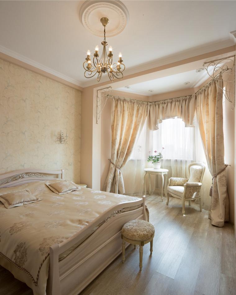 интерьер спальни - фото № 49113