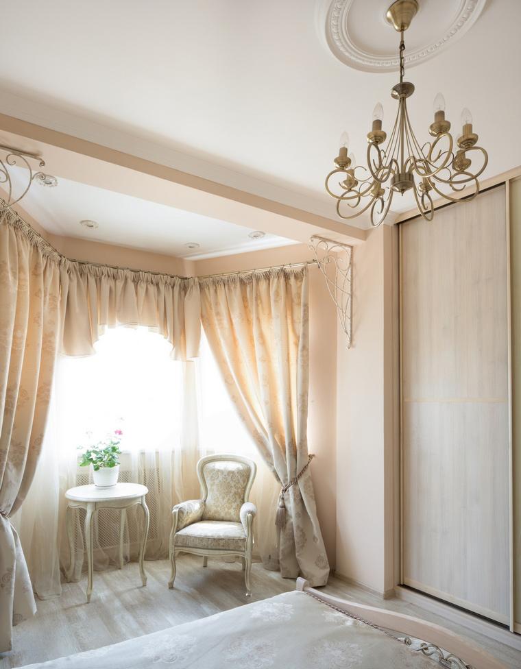 интерьер спальни - фото № 49114