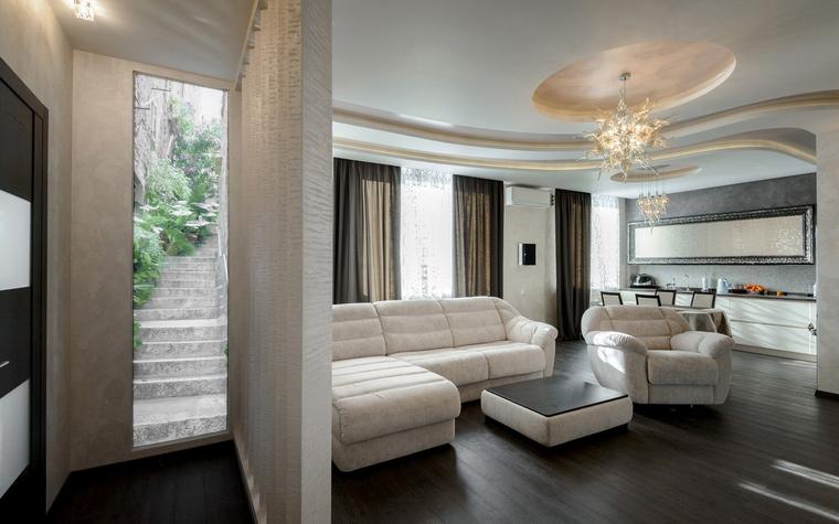 Квартира. гостиная из проекта , фото №49203