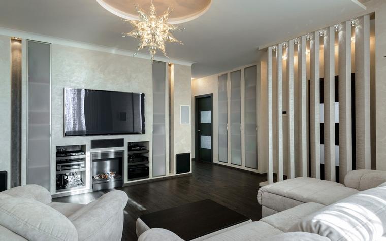 Квартира. гостиная из проекта , фото №49204