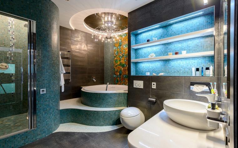 Квартира. ванная из проекта , фото №49209