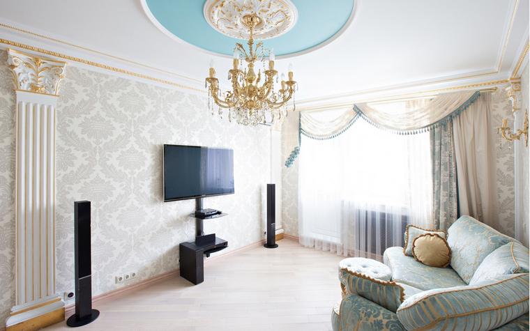 Квартира. гостиная из проекта , фото №49232
