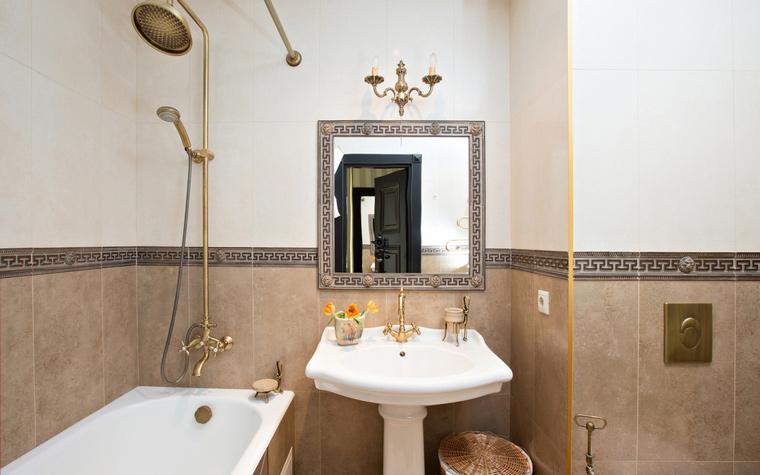 Квартира. ванная из проекта , фото №49245