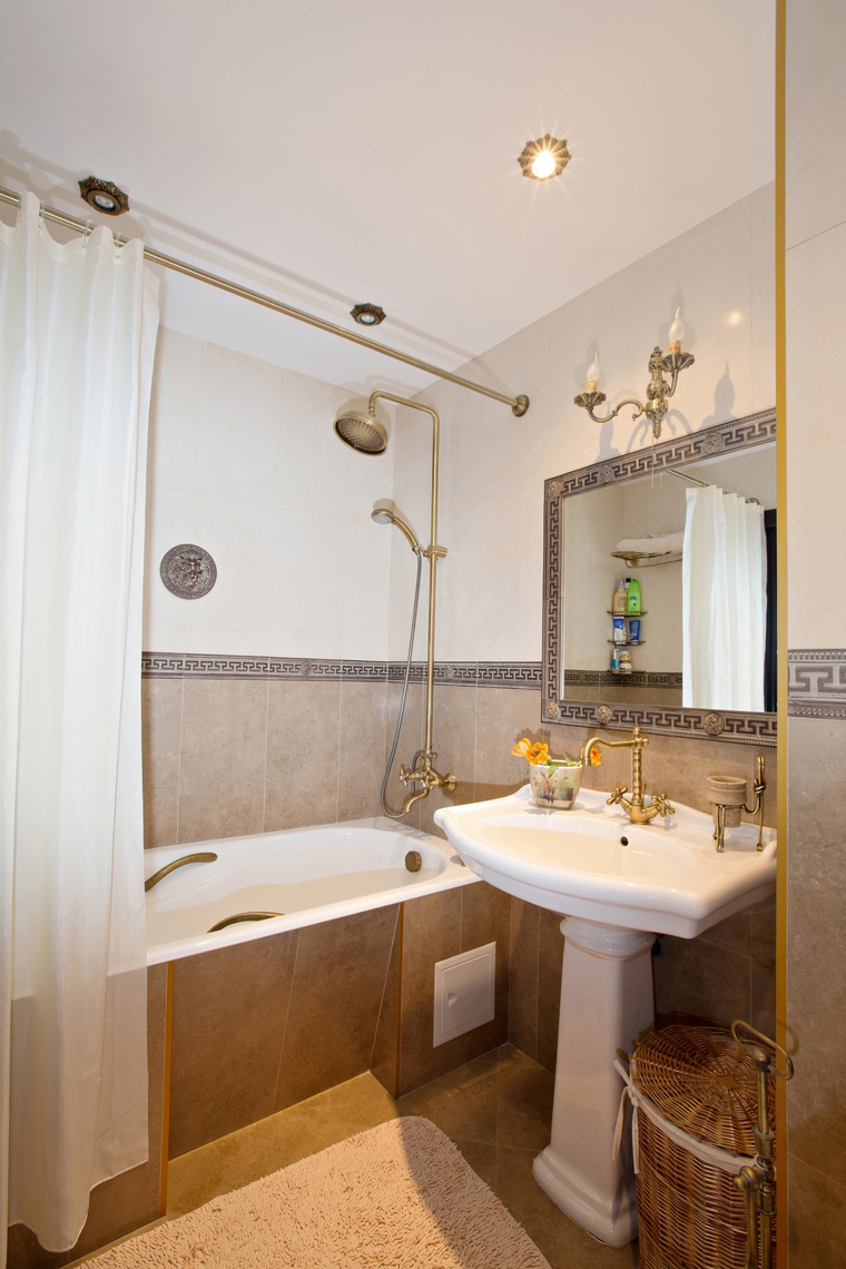 Квартира. ванная из проекта , фото №49246