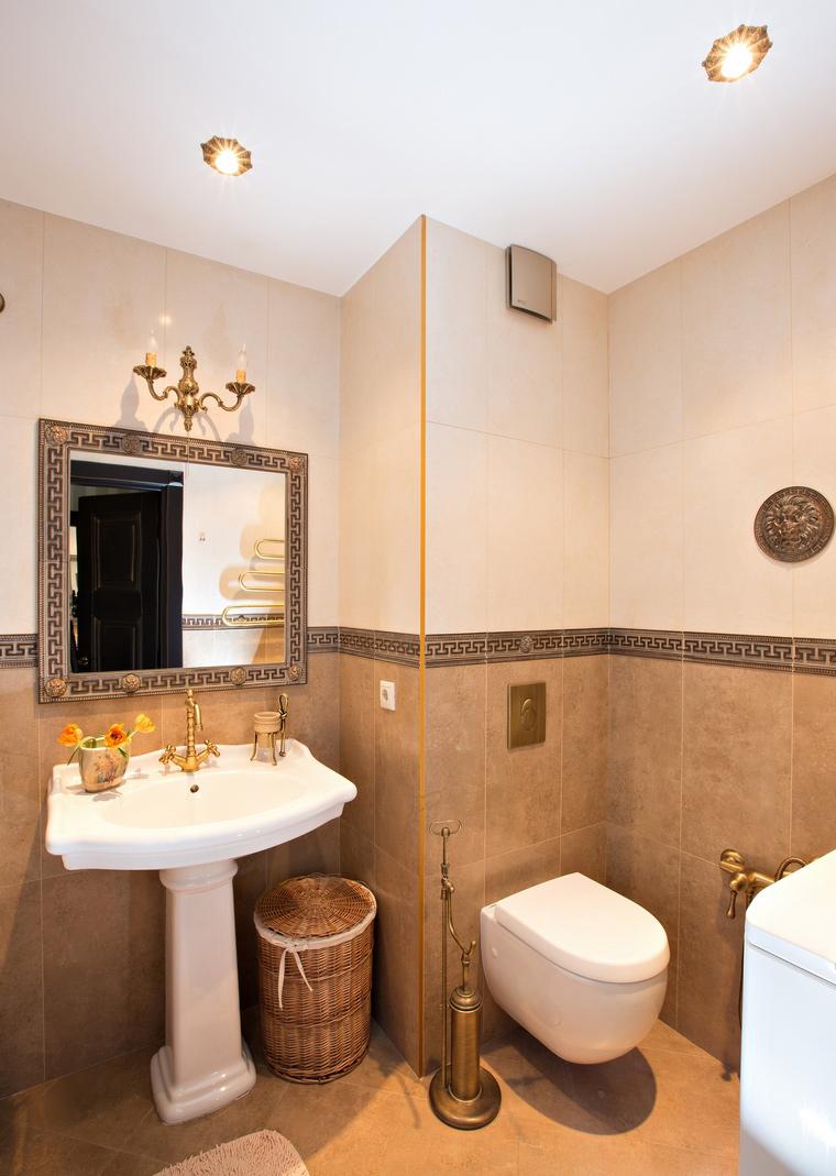 Квартира. ванная из проекта , фото №49247