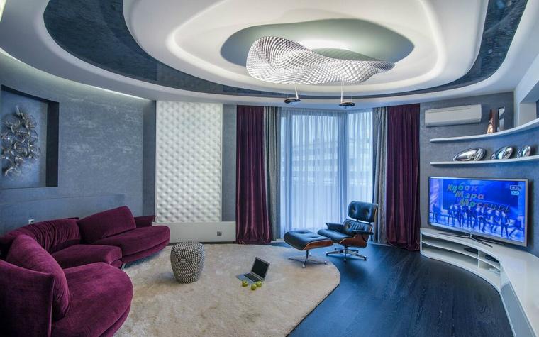 интерьер гостиной - фото № 49311