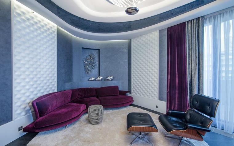 интерьер гостиной - фото № 49310