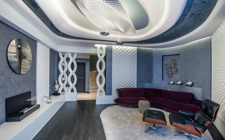 интерьер гостиной - фото № 49309