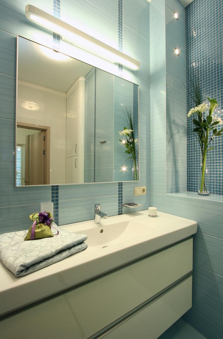 Фото № 49385 ванная  Квартира
