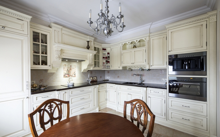 Фото № 49402 кухня  Квартира