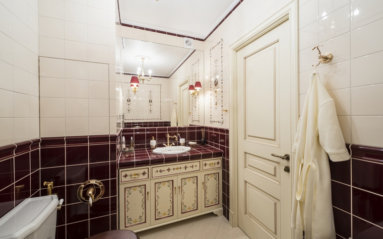 Фото № 49407 ванная  Квартира