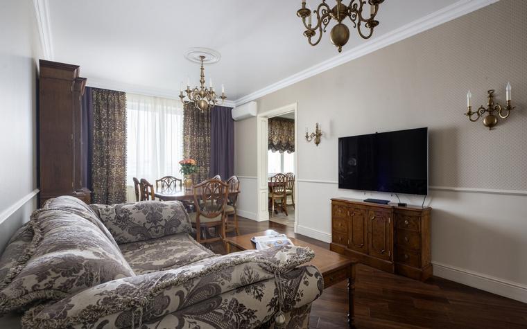 Фото № 49396 гостиная  Квартира