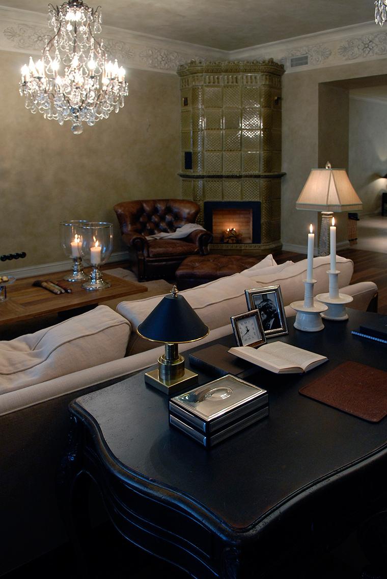 интерьер гостиной - фото № 49439