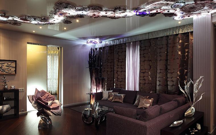 интерьер гостиной - фото № 49457