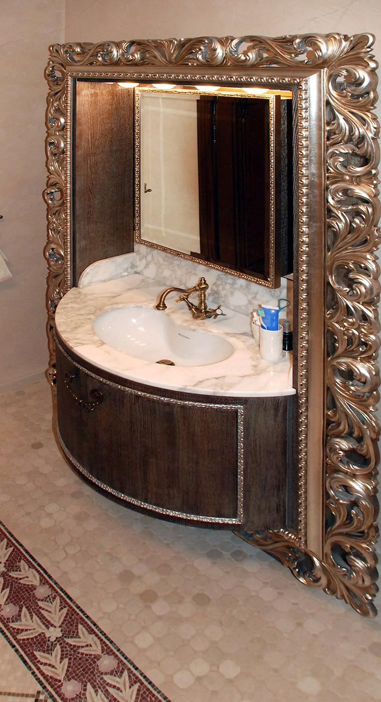 Квартира. ванная из проекта , фото №49482