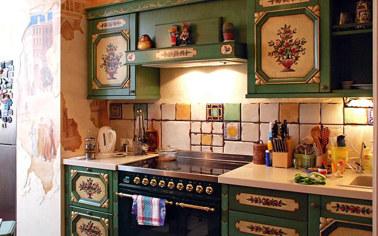 Квартира. кухня из проекта , фото №49483