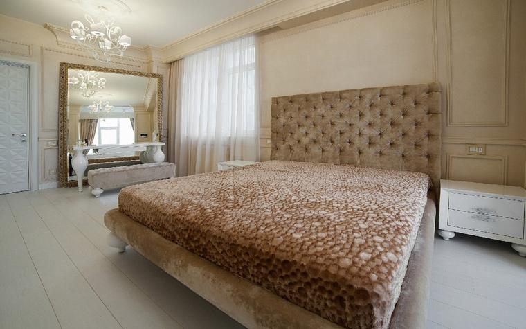 Квартира. спальня из проекта , фото №49490