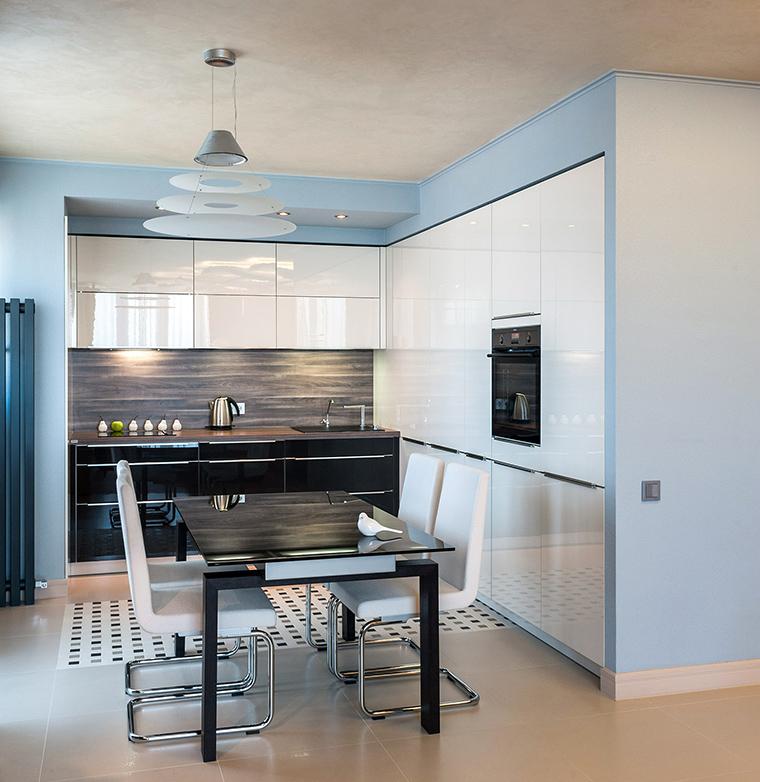 Квартира. кухня из проекта , фото №49501