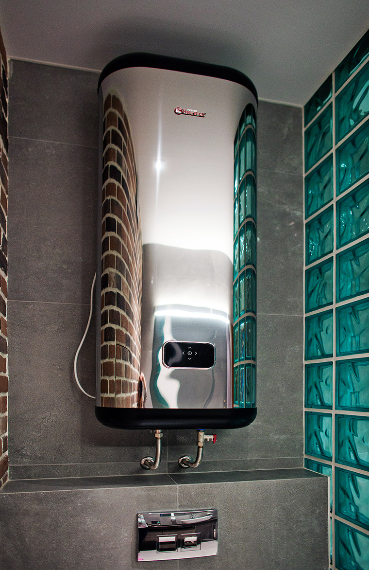 Квартира. ванная из проекта , фото №49586