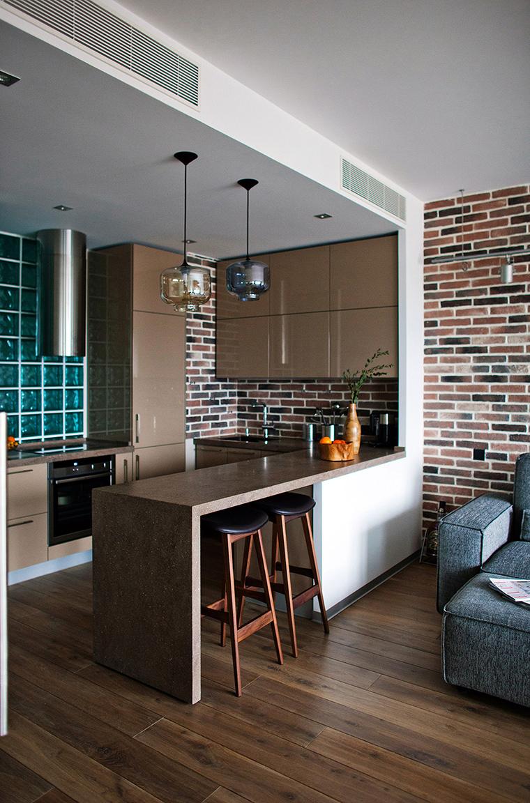 Фото № 49560 кухня  Квартира