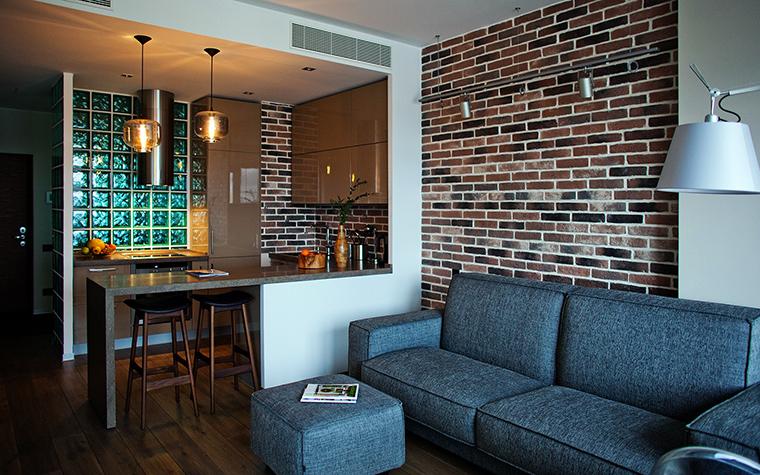 интерьер гостиной - фото № 49556