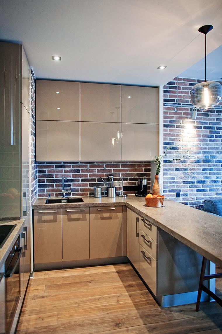 Фото № 49569 кухня  Квартира