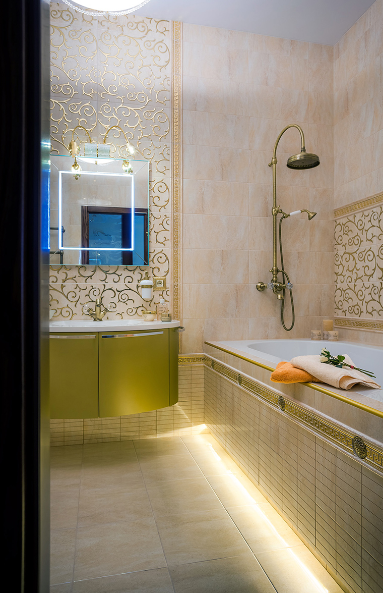 Фото № 49672 ванная  Квартира