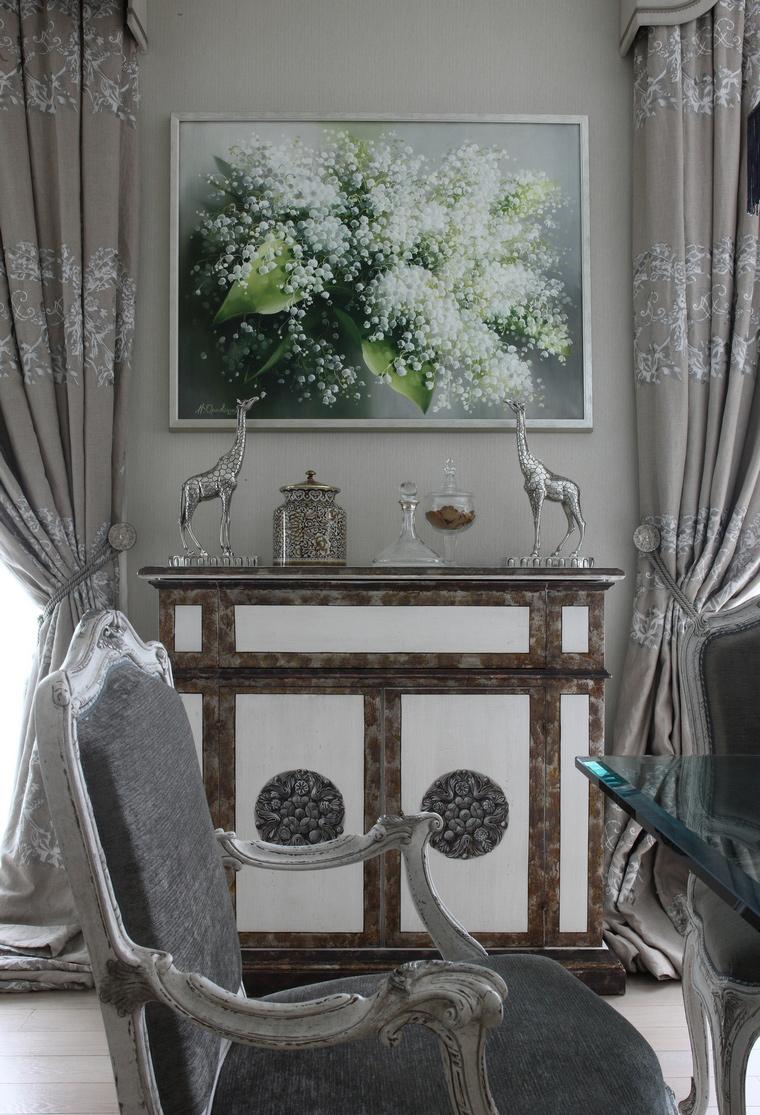 Квартира. столовая из проекта , фото №49649