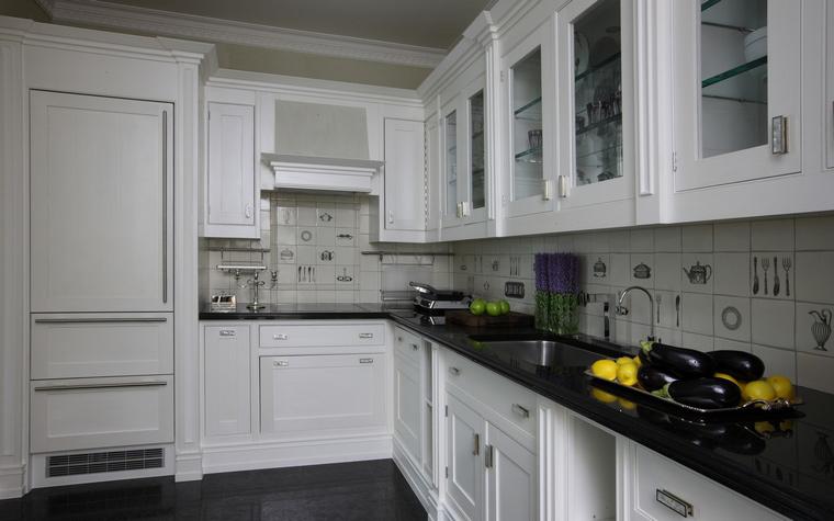Квартира. кухня из проекта , фото №49645