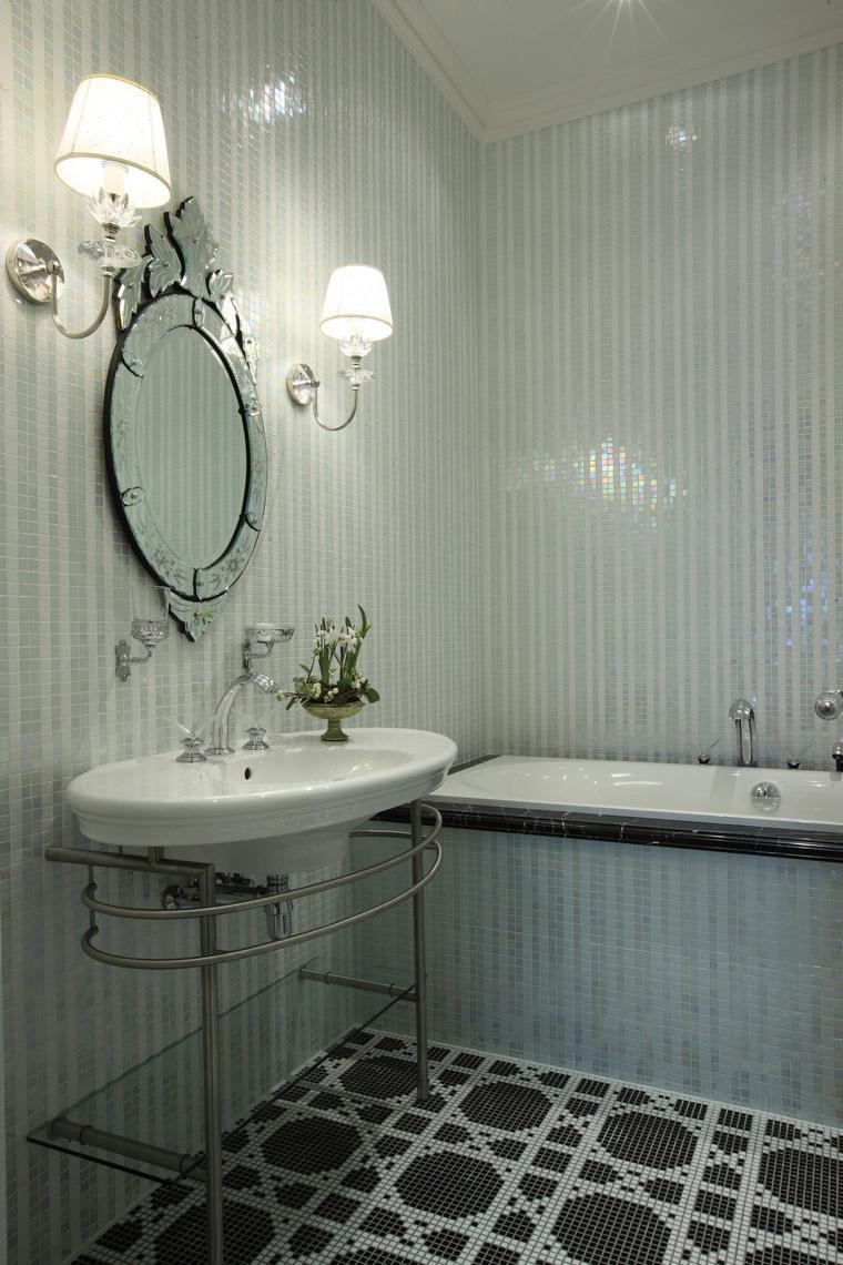 Квартира. ванная из проекта , фото №49661
