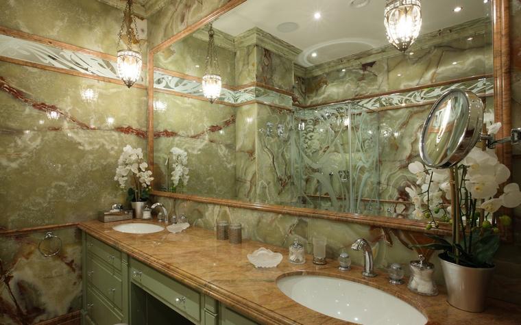 Фото № 49662 ванная  Квартира