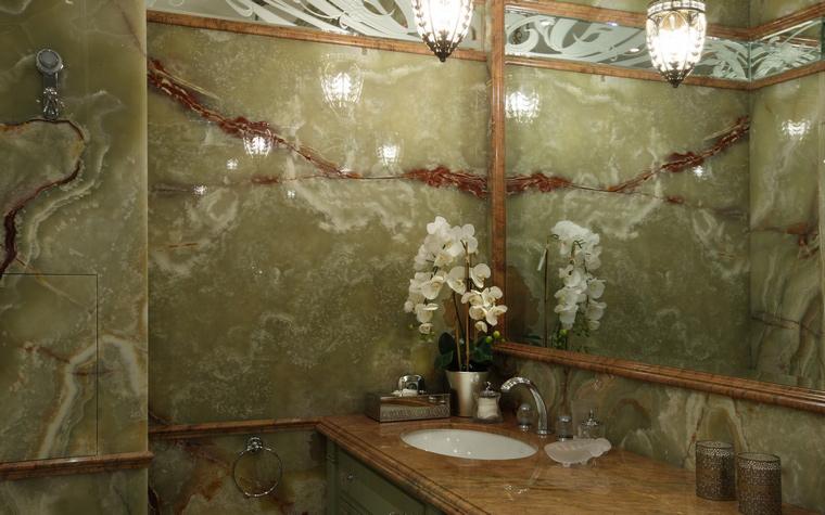 Фото № 49663 ванная  Квартира