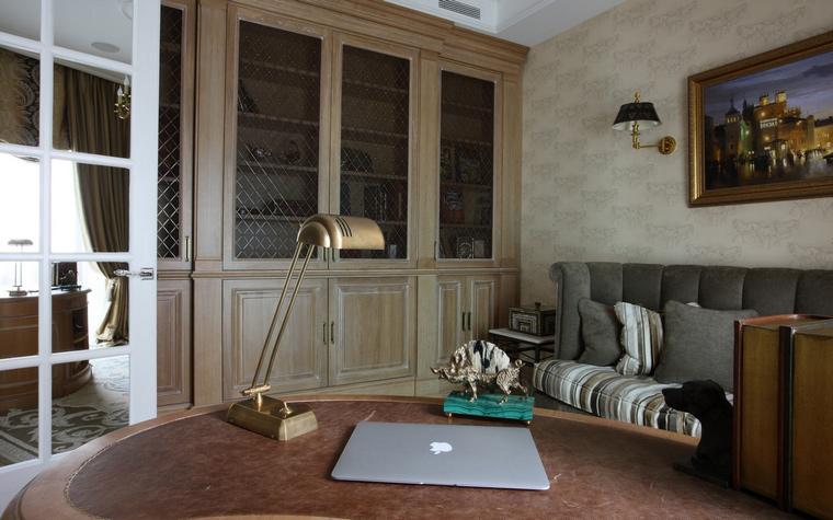 Квартира. кабинет из проекта , фото №49655