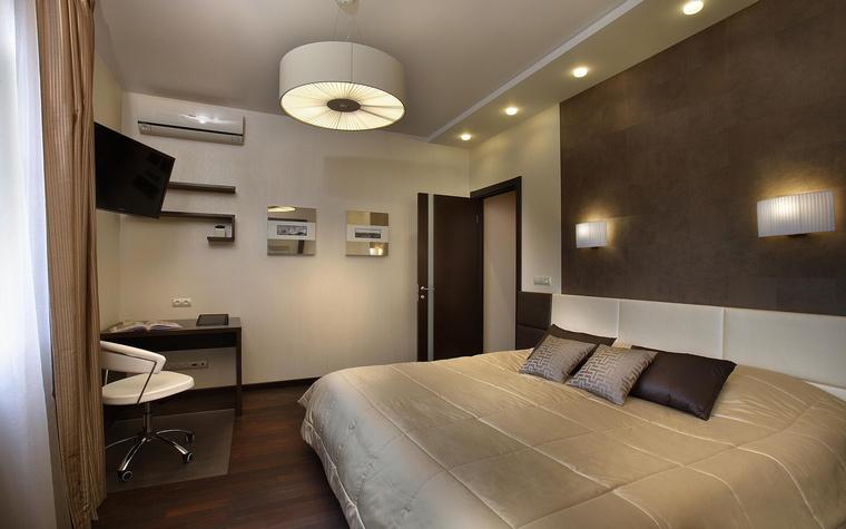 интерьер спальни - фото № 56371