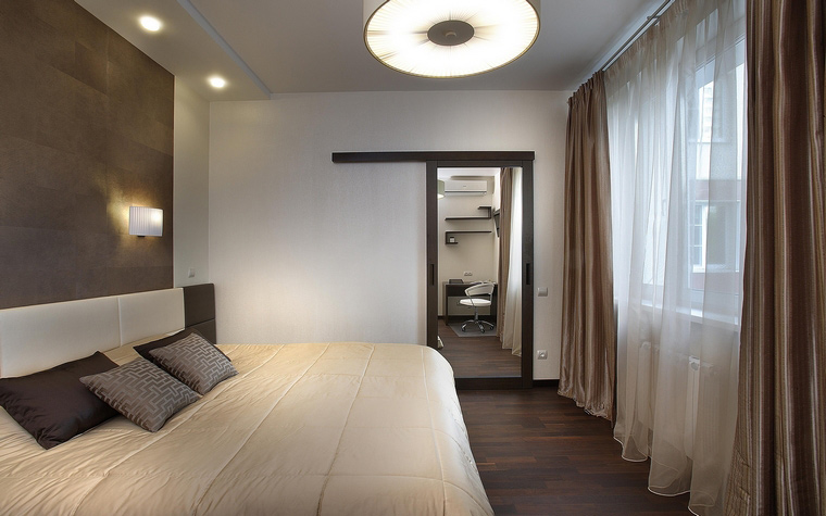 интерьер спальни - фото № 56372