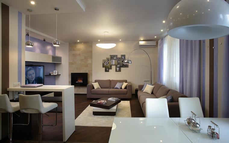 интерьер гостиной - фото № 56368