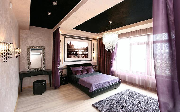 Квартира. спальня из проекта , фото №54152