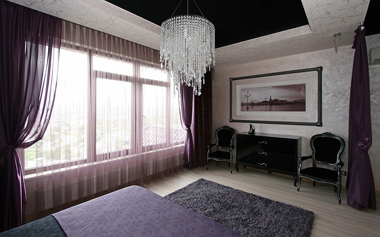 Квартира. спальня из проекта , фото №54153