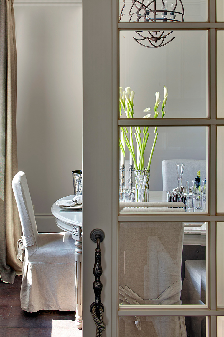 Квартира. столовая из проекта , фото №57470