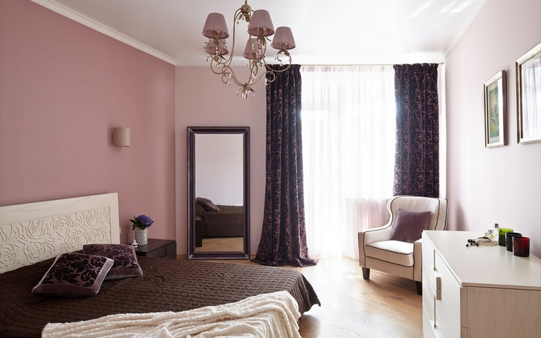 Квартира. спальня из проекта , фото №54213