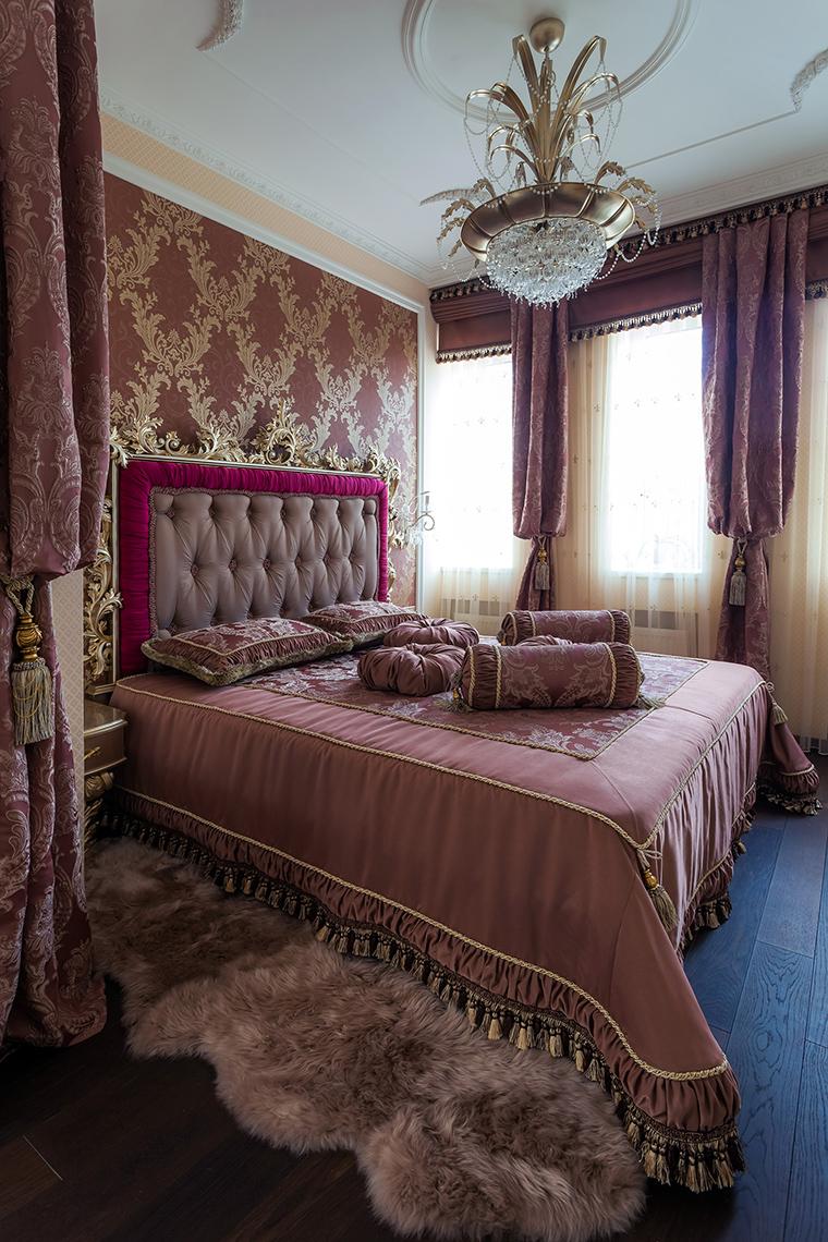 интерьер спальни - фото № 49680