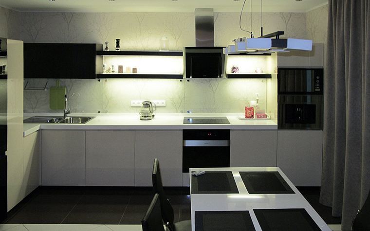 Фото № 49746 кухня  Квартира