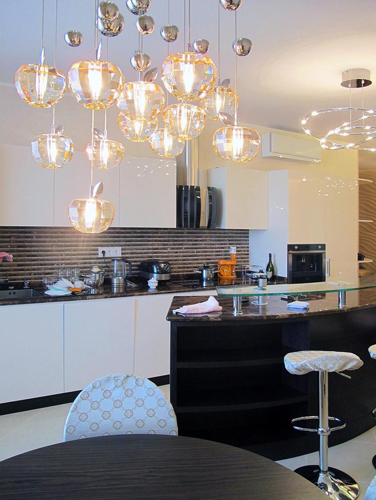 Квартира. кухня из проекта , фото №49795