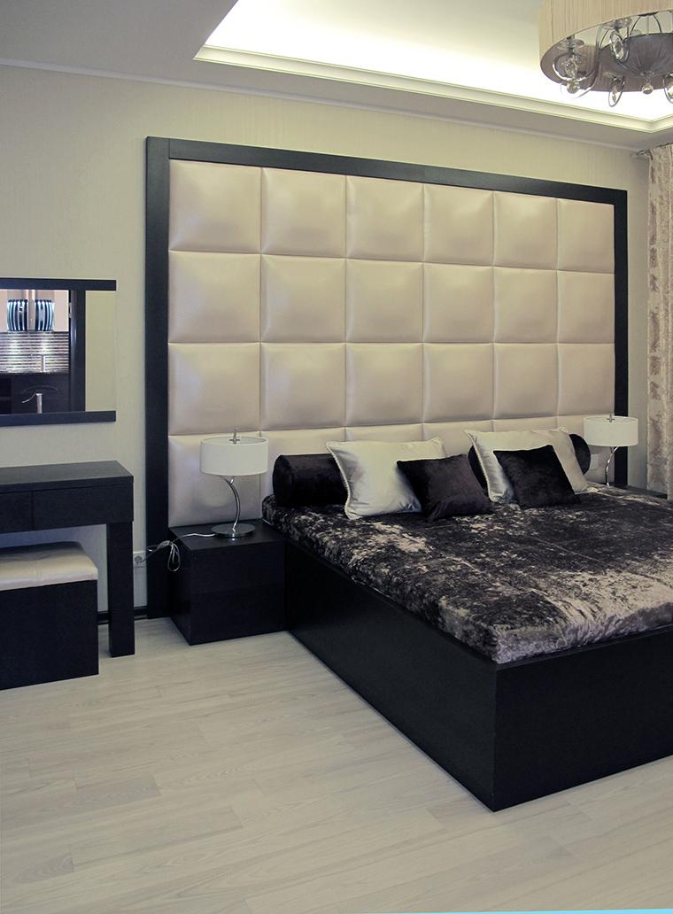 Квартира. спальня из проекта , фото №49782