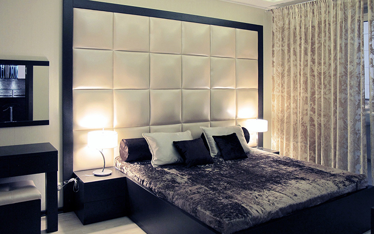 Квартира. спальня из проекта , фото №49784