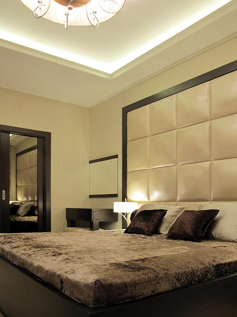 интерьер спальни - фото № 49786