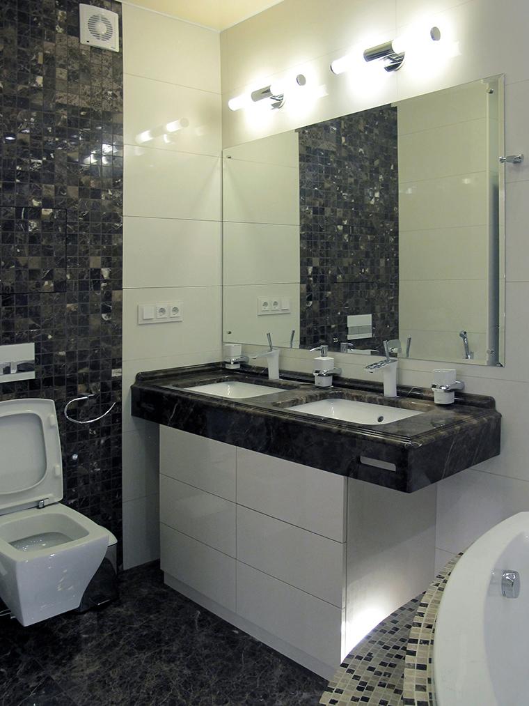 Квартира. ванная из проекта , фото №49787