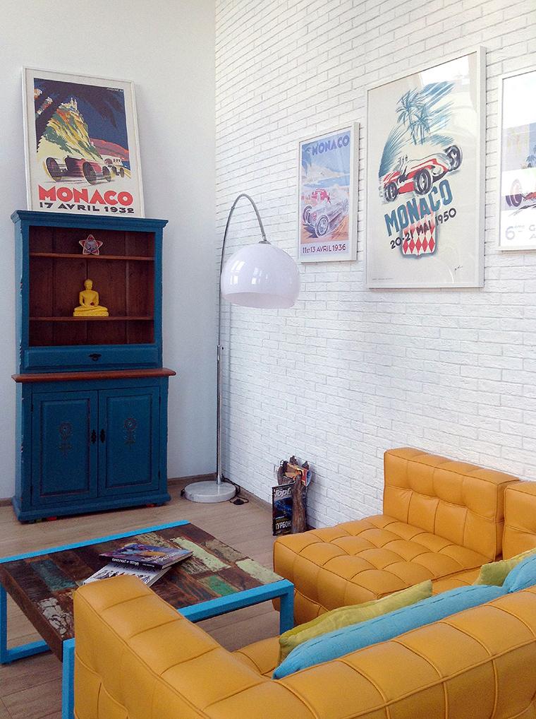 интерьер гостиной - фото № 49823
