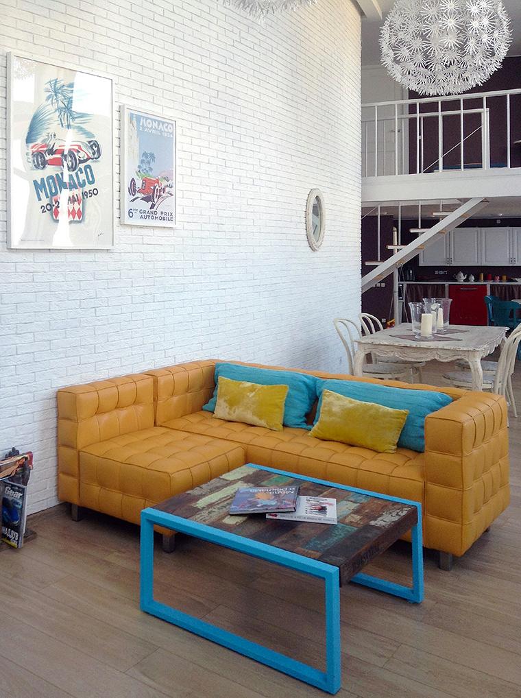 интерьер гостиной - фото № 49824