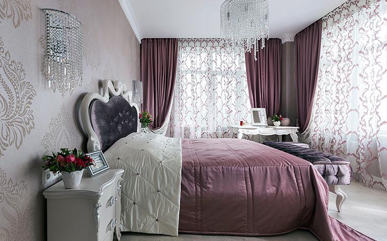 Квартира. спальня из проекта , фото №49844